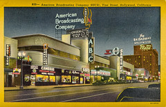 Pleasure to thousands of visitors to Hollywood (mdelajudie) Tags: usa hollywood abc california hotel shoppingcenter cameras shop postcard