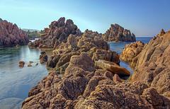 Costa Paradiso Sardegna (@Jarmila) Tags: costa paradiso nature seascape long exposure ndfilter coast paradise sardinia italy travel ©jarmila canon hiking mountain rocks outdoor mare spiaggia beach li cossi
