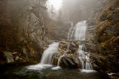 Into the fog (J.u.l.i.u.s.) Tags: nature new ngc natur explore inexplore fog water wasser waterfall waterfalls pirin bulgaria
