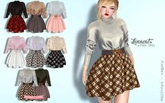 17th Nov_11pm SLT@Tres Chic (Malynnchee@Lunacat) Tags: legacy maitreya secondlife secondlifefashion skirt dress shirt kawaii harajukustyle lunacat tres chic treschic fashion