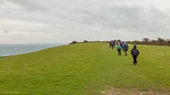 Walking along a hillside near Swanage in Dorset (Mr Joel's Photography) Tags: nearswanage dorset hillside
