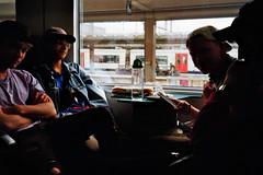 #film #35mm #train #kodak400 #minolta #boys #light #35mmfilm (Elke Smets) Tags: 35mmfilm kodak400 light boys 35mm minolta film train