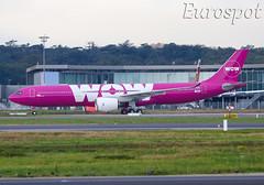 F-WWCU Airbus A330 Neo Wow Air / Citilink (@Eurospot) Tags: fwwcu airbus a330 neo a330900 citilink toulouse blagnac 1887 pkgyc