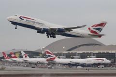 British Airways (So Cal Metro) Tags: britishairways 747 744 747400 gbygd boeing airline airliner airplane aircraft aviation airport plane jet lax losangeles la