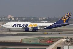 Atlas Air (So Cal Metro) Tags: atlasair 744 747 747400 n263sg boeing airline airliner airplane aircraft aviation airport plane jet lax losangeles la