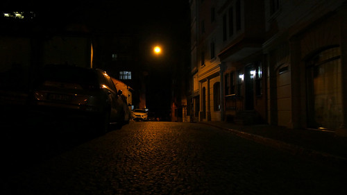 Istanbul by night: Streets