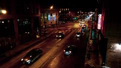 Wicker Park (RW Sinclair) Tags: 2019 autumn carl chicago dscrx100m3 digital fall m3 november rx100 rx100m3 rx100iii sony variosonnar zeiss iii street urban cityscapr cityscape night wicker park traffic