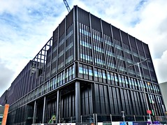 New Engineering block in Manchester (Tony Worrall) Tags: manchester greatermanchester urban building new university outside modern block study metal brutal design buy sell sale bought item stock ilobsterit instagram gmr lines shapes geometric square dailyphoto photohour north northwest english british lancashire built engineering students fine engineer construction location venue