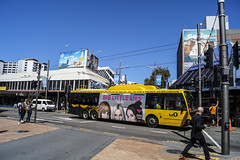 Manners Street - Wellington (andrewsurgenor) Tags: wellingtontrolleybuses trolleybuses trolleybus transit trackless trolleycoach trolebús trolejbusowy trolejbus trolle obus gowellington nzbus