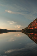 Loch Migdale (rattigan_tim) Tags: sctoland scotland mountains yellow sunset winter snow capped rocky trees scenery landscape nx3000 migdale scenic travel uk reflections autumn seasons loch tree water lochmigdale