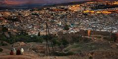 Sunset over Fez (JLM62380) Tags: sunset fes fez town ville mosquée mosque coucherdesoleil morocco maroc africa afrique women