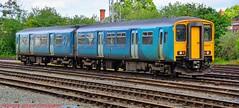 150252 @ Chester (A J transport) Tags: class150 sprinter 150252 arrivatrainswales transportforwales diesel dmu railway england trains train track nikkon d5300 dlsr