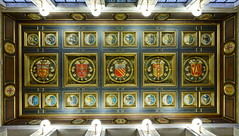 Photo of Manchester Central Library Entrance Ceiling