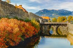 the water-bearing moat (a7m2) Tags: friesach carinthia austria metnitztal friesacherfeld virgilienberg petersberg gurktaleralpen wandern castle fortress joggen travel tourismus burgbau