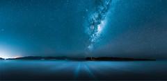 Kaitorete Spit Milky Way (paulphotographe) Tags: new zealand aotearoa nikon sky stars milkyway night cosmos ocean water sea