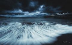 Morning Storm (RTA Photography) Tags: weather stormy sea water waves longexposure nature outdoors nikkor nikon d750 kasefilters sky pier paignton paigntonpier paigntonbeach torbay devon seascape rtaphotography motion