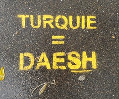 """Turquie = Daesh"" Paris 2019"