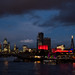 London Skyline : Dark and Stormy