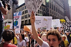 We Are Running Out Of Time (michael.veltman) Tags: youth climate crisis protest chicago illinois