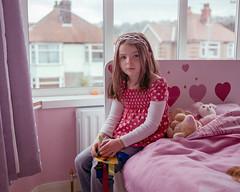 Maia, 2010 (BennehBoy) Tags: 6x7 film 0002072 mamiya7 kid bedroom lovehearts