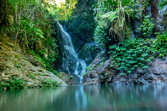 Elabana Falls (agasfer) Tags: 2019 australia lamington national park hiking waterfalls pentax k3 sigma1020 cottoncandy