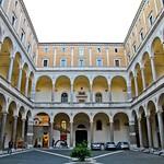 04 Браманте Палаццо делла Канчеллерия Внутренний двор