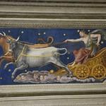 15 Вилла Фарнезина. Зал Галатеи. Перуцци. Фреска потолка - Каллисто, повелительница звезд