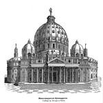 31 Собор св Петра в Риме. Проект Микеланджело 1546-64