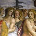 22 Вилла Фарнезина Станца делле Ноцце. Иль Содома Семья Дария встречает Александра. Фрагмент 1519