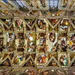 42b Микеланджело. Сикстинская капелла, Фрески свода