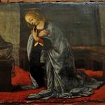 44а  Леонардо (возм. Лоренцо ди Креди). Благовещени, фрагмент