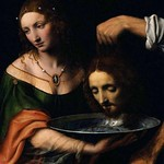 55 Бернардино Луини Саломея с головой И.Предтечи, 1528. Бостон