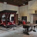 53а Спальня Леонардо в замке Кло-Люсе, где он умер в 1519