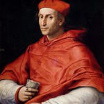 76 Рафаэль Санти Портрет кардинала Биббиены, 1516-17. Палаццо Питти, Флоренция