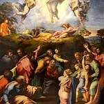 77 Рафаэль Санти Преображение 1516-1520. Ватиканская Пинакотека