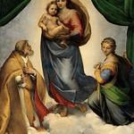 74 Рафаэль Сикстинская Мадонна Дрезденская галерея 1513-14
