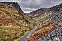 Honsiter Pass (Nige H (Thanks for 25m views)) Tags: nature landscape cumbria lakedistrict england autumn honisterpass mountains fleetwithpike