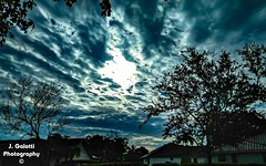 Sun, fighting to peak out through the grey, gloomy Friday morning clouds. (Jasongalotti) Tags: clouds cloudy cloudphotography outdoorphotography sunrise sun southfloridaweather relaxing cool wow sky