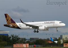 F-WWIX Airbus A320 Neo Vistara (@Eurospot) Tags: airbus a320 neo toulouse blagnac vttnu fwwix 9367 vistara