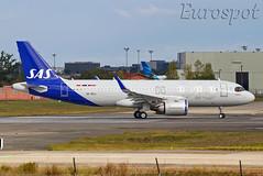 SE-ROJ Airbus A320 Neo SAS (@Eurospot) Tags: airbus a320 neo toulouse blagnac seroj scandinavian sas 9312