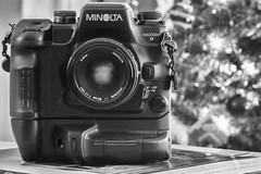 The Tool Kit - 2019 - Minolta Maxxum 9 (Alex Luyckx) Tags: camera gear sony sonya6000 a6000 icle6000 fotodiox aisnikkor105mm125 minolta minoltamaxxum9 maxxum9 slr 135 35mm film filmcameras believeinfilm filmisalive filmisnotdead