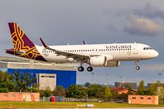 F-WWIX // VT-TNU Vistara Airbus A320-251N MSN 9367 (Florent Péraudeau) Tags: fwwix vttnu vistara airbus a320251n msn 9367 a320 neo