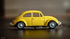 Yellow - 7711 (✵ΨᗩSᗰIᘉᗴ HᗴᘉS✵85 000 000 THXS) Tags: toy yellow voiture automobile vw coccinelle bug macro panasonic belgium europa aaa namuroise look photo friends be yasminehens interest eu fr party greatphotographers lanamuroise flickering