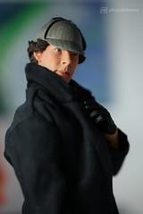 sherlock ! (photos4dreams) Tags: sherlock toy spielzeug sherlockholmes benedictcumberbatch bbc crime scene photos4dreams p4d photos4dreamz drwatson series serie actionfigure 16 sixthscale drstrange doctor oy canoneos5dmark3 tabletopphotography puppenstube