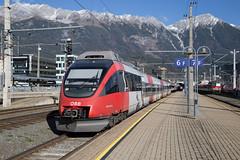 ÖBB 4024 072 Innsbruck Hbf (daveymills37886) Tags: öbb 4024 072 innsbruck hbf bombardier talent