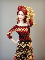 Nadja London Show (Deejay Bafaroy) Tags: nadja nadjarhymes londonshow fr fashion royalty integrity toys doll puppe convention 2019 portrait porträt blonde blond dress kleid redressed