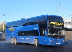 50408 YX69 LCG Stagecoach Megabus (North East Malarkey) Tags: nebuses bus buses transport transportation publictransport public vehicle flickr outdoor explore google googleimages plaxton volvobuscoach volvo volvob11rle volvob11rleplaxtonpanorama plaxtonpanorama 19reg stagecoach stagecoachuk stagecoachcumbernauld stagecoachmegabus megabus 50408 yx69lcg ourkid