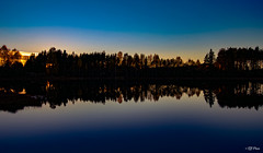 reflection (thore.bryhn) Tags: lake sunset calm reflection