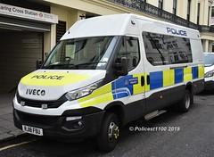 Metropolitan Police Iveco Minibus RJ18 FBU (policest1100) Tags: metropolitan iveco police minibus rj18 fbu