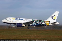 E7-FBA | Airbus A319-112 | FlyBosnia (james.ronayne) Tags: e7fba airbus a319112 flybosnia a319 aeroplane airplane plane aircraft luton ltn eggw canon 100400mm raw stunning gorgeous beautiful sharp sunny bright 5ds airliner airline passenger pax